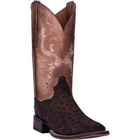 Dan Post Men's Walnut Stark Ostrich Foot Boot DP4522
