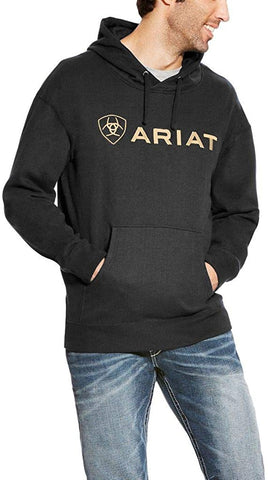 Ariat® Men's Black & Gold Father's Day Hoodie 10021840