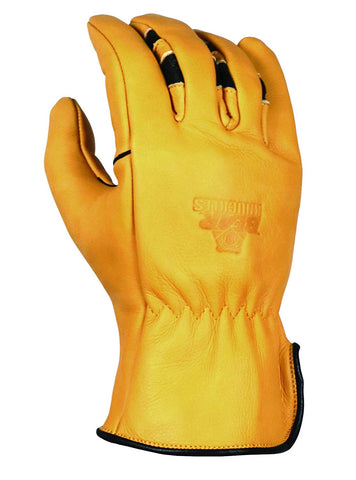 Bear Knuckles Heavy Duty Double Wedge™ Leather Work Gloves HD351