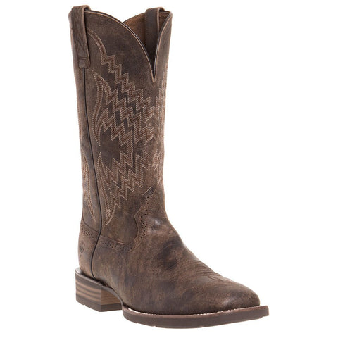 Ariat® Men's Tycoon Simmons Antique Grey Square Toe Boots 10025136