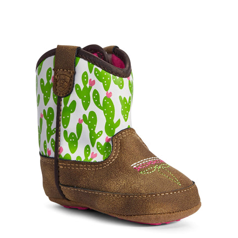 Ariat Lil' Stompers Infant Cactus Anaheim Spirfire Shoes A442000444