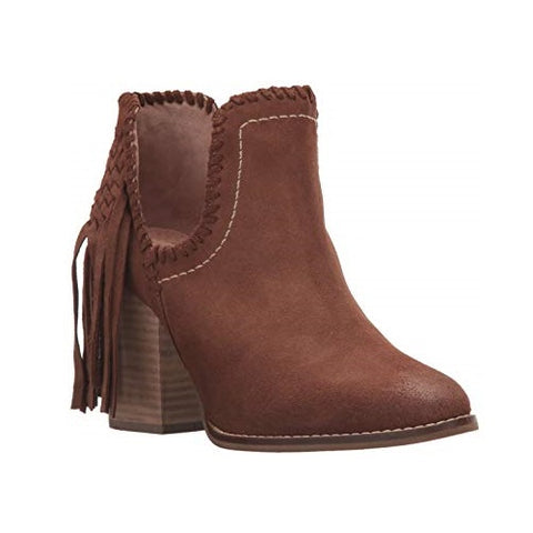 Ariat® Ladies Unbridled Lily Whiskey Suede Fringe Booties 10021287