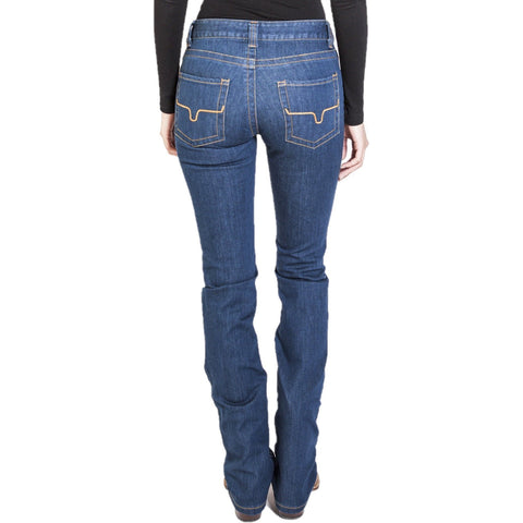 Kimes Ranch Ladies Betty Mid Rise Bootcut Dark Indigo Jeans BETTY-DI