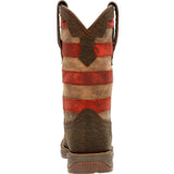 Durango® Ladies Rebel Vintage Flag Brown Western Boots DRD0409