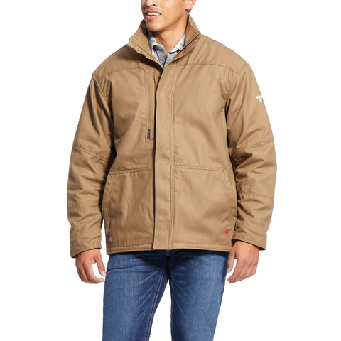 Ariat® Men's FR Workhorse Field Khaki Insulated Jacket 10024029