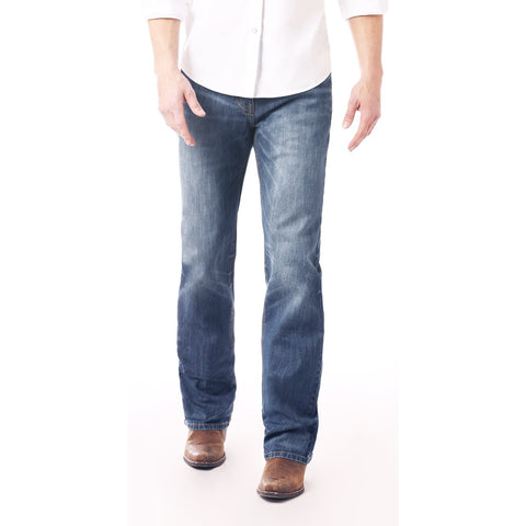 Rock & Roll Denim Men's Double Barrel Straight Jeans M0S2351