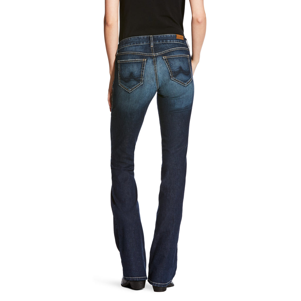Women/'s Bootcut Hipster Jeans Stone Washed Denim Stretch Belt included XS-XXL