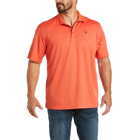 Ariat Men's Tek Polo Spice Isle Short Sleeve Shirt 10034947