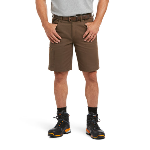 Ariat® Mens Rebar Relaxed Made Tough Durastretch Wren Shorts 10034623