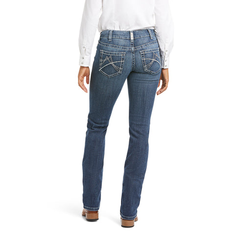 Ariat Ladies Gianna Arrow Fit Stackable Straight Leg Jeans 10034655