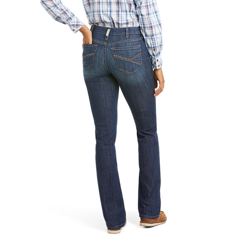 Ariat Ladies R.E.A.L Kristen High Rise Straight Leg Jeans 10034664