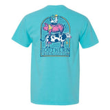 Southern Fried Cotton Ladies Farm Life Short Sleeve T-Shirt SFM11575