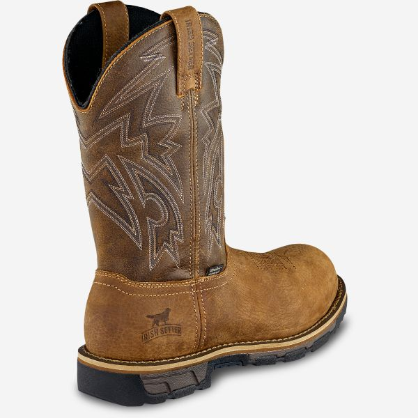 Irish Setter by Red Wing Marshall