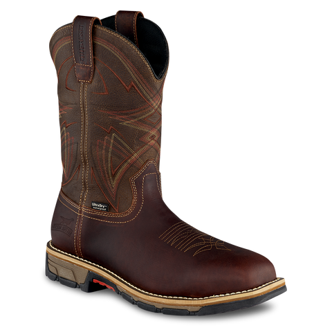 Irish Setter by Red Wing Men's Marshall Brown Steel Toe Work Boot 83930