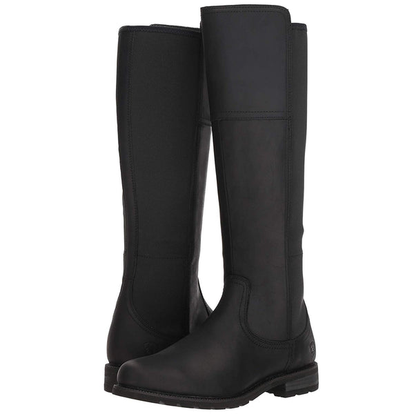 Ariat® Ladies Sutton H2O Waterproof Tall Black Boots 10024986 - Wild West Boot Store