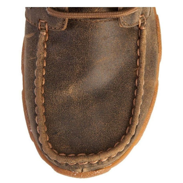Twisted X Ladies Brown Bomber Driving Mocs WDM0003 - Wild West Boot Store