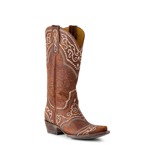 Yippee Ki Yay by Old Gringo Ladies Sintra Oryx Brown Boots YL161-1