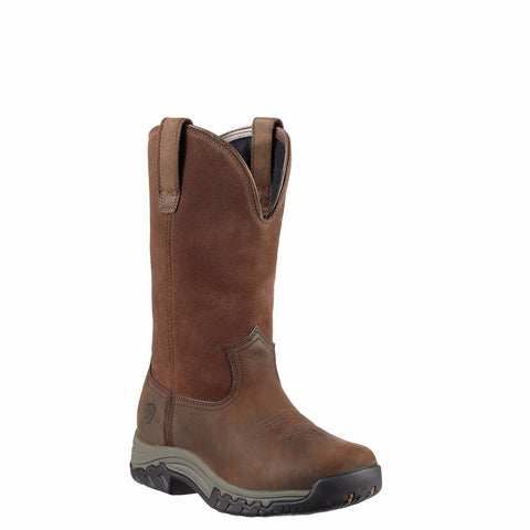 Ariat Ladies Terrain Pull-On H2O Brown Waterproof Boot 10011845 - Wild West Boot Store