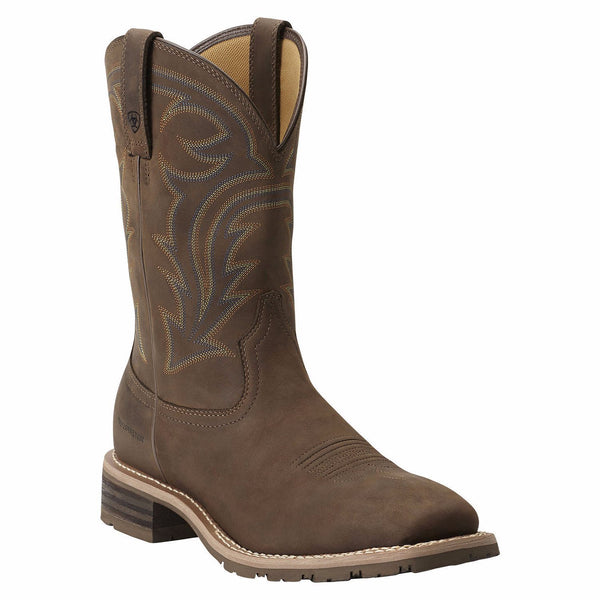 Ariat Men's Brown Hybrid Rancher H2O Waterproof Pull-On Boot 10014067 - Wild West Boot Store