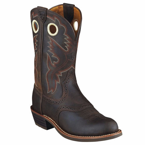 Ariat Ladies Heritage Roughstock Cowboy Boot 10001594 - Wild West Boot Store - 1