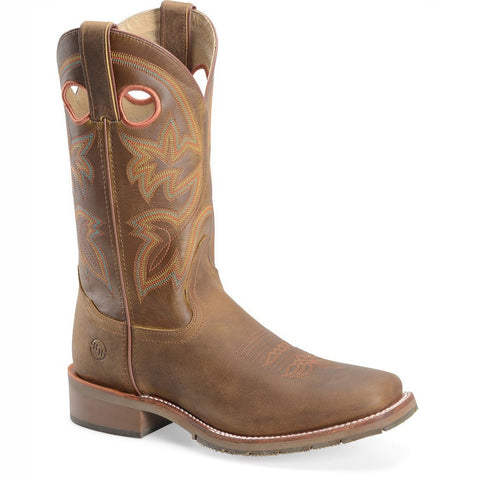 Double H Men's 12 Inch Brown Work Western Boot DH5419 - Wild West Boot Store - 1
