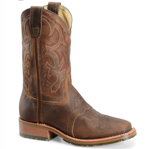 Double-H Men's Domestic Square Toe ICE Roper DH3560 - Wild West Boot Store - 1