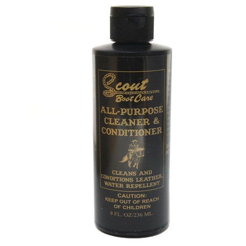 Scout All-Purpose Leather Cleaner & Conditioner - Wild West Boot Store