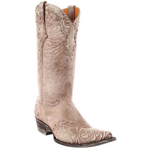 Old Gringo Ladies Erin Bone Wedding Boot L640-3 - Wild West Boot Store