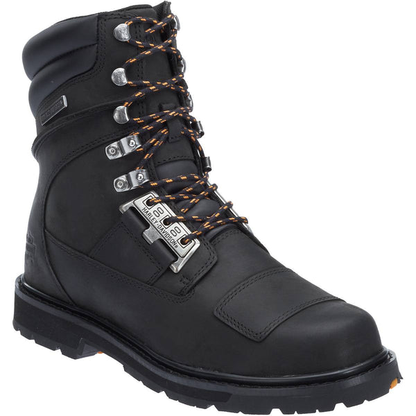 Harley Davidson Men's Coulter Combat Style Motorcycle Boot D93436 - Wild West Boot Store