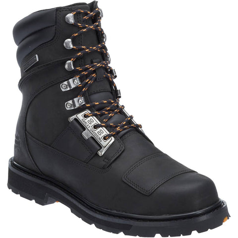 Harley Davidson Men's Coulter Combat Style Motorcycle Boot D93436