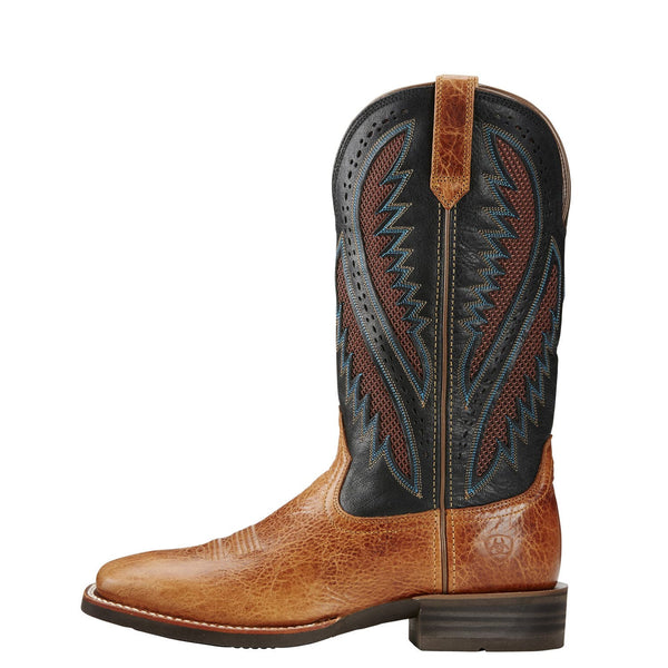 Ariat® Men's Quickdraw Venttek Gingersnap Square Toe Boots 10019983 - Wild West Boot Store