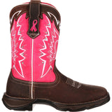 Durango Ladies Pink Ribbon Breast Cancer Awareness Boots RD3557 - Wild West Boot Store - 2