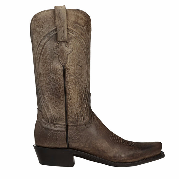 Lucchese Men's Since 1883 Clint Pearl Bone Mad Dog Boots N1656.74 - Wild West Boot Store