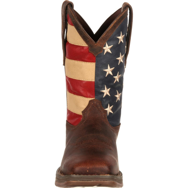 Durango Men's Rebel Patriotic Pull-On Flag Boots DB5554 - Wild West Boot Store - 3