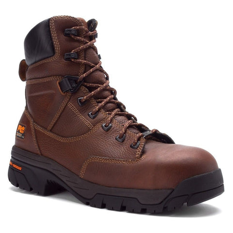 Timberland PRO Men's Helix Brown Waterproof Comp Toe Work Boot 87566 - Wild West Boot Store