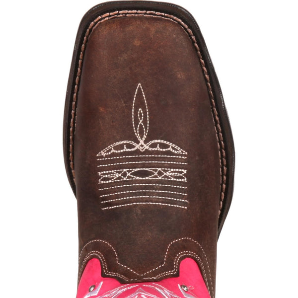 Durango Ladies Pink Ribbon Breast Cancer Awareness Boots RD3557 - Wild West Boot Store - 4