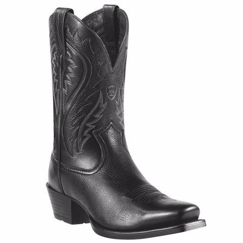 Ariat Men's Black Deertan Legend Phoenix Boots 10010938 - Wild West Boot Store
