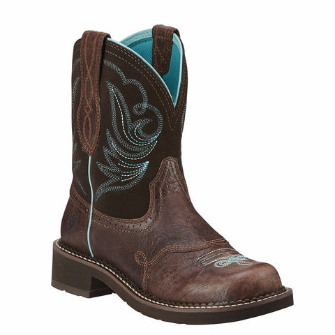Ariat Ladies Fatbaby Heritage Dapper Western Boots 10016238 - Wild West Boot Store - 1