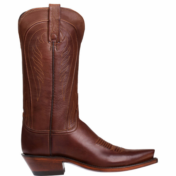 Lucchese Ladies 1883 Amberle Boots Tan Burnished Ranch Hand N4604.54 - Wild West Boot Store - 2