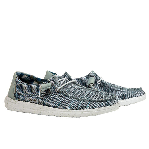 Hey Dude Ladies Wendy Sox Ice Grey Shoes 121413913