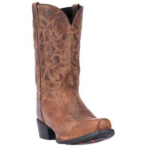 Laredo Men's Bryce Tan Distressed Boots 68442 - Wild West Boot Store