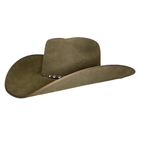 Resistol High Score Oak Brown Felt Cowboy Hat RWHGSCB7942KB