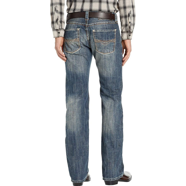 Rock & Roll Denim Men's Pistol Straight Leg Jeans M1P9263