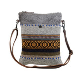 Myra Bag Tribal Pattern Cotton Rug Small Crossbody Purse S-2880