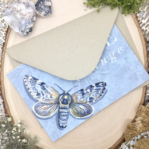 Arctic Moth Digital Card
