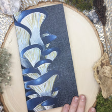 Load image into Gallery viewer, Blue Oyster Mushroom Mini Sketchbook