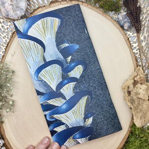 Blue Oyster Mushroom Mini Sketchbook