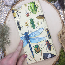 Load image into Gallery viewer, Insect Mini Sketchbook/ Travelers Sketchbook