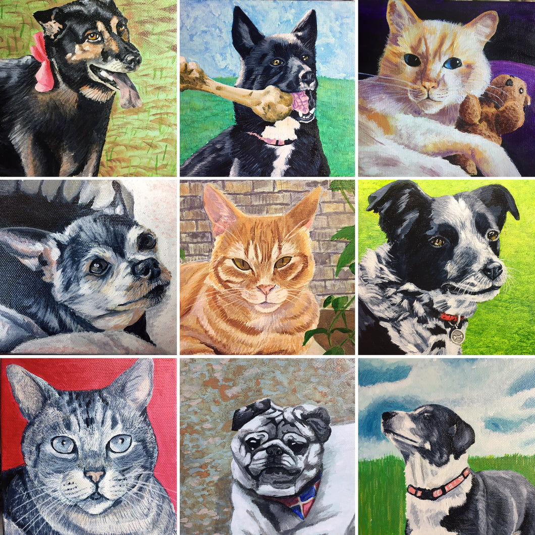 Pet Portrait Order Form
