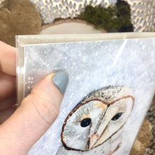 Load image into Gallery viewer, Barn Owl Greeting Card